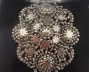 zilveren schakelarmband 3e kwart 19e eeuw